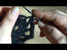 Вяжем жакет из мотивов с фантазийной пряжей. Часть 1. Сrochet knit jacke...