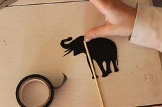 Kids shadow puppets tutorial #MyKidsAdventures