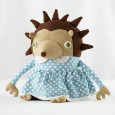 $40 Cotton Monster Hedgehog (Mom)    Crate and Barrel
