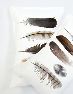 Feather Collection pillowcase Set