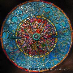 Orbits (mandala) by Susan Crocenzi