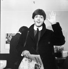 Beatle Paul McCartney flashing us a big smile!
