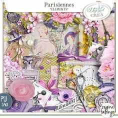 kit Parisienne by Reginafalango http://www.digitalscrapbookingstudio.com/store/index.php?main_page=index&cPath=13_595 http://digital-crea.fr/shop/index.php?main_page=index&manufacturers_id=183