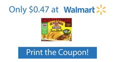 Walmart: Old El Paso Taco Shells Only 47¢ with Printable Coupon!