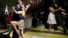 ¿El tango con Obama le causa a la bailarina problemas con su