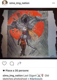Instagram sketches •  Old Gigant