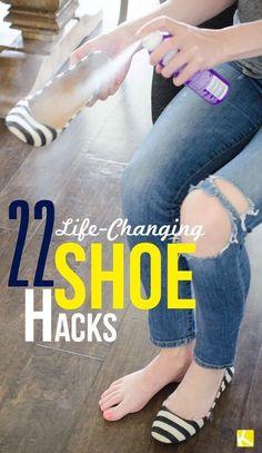 22 Life Changing Shoe Hacks