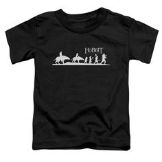 Hobbit/Orc Company Short Sleeve Toddler Tee , Toddler Boy's