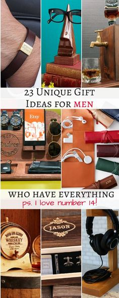 I love Valentines Day but it is so hard to buy gifts for men! I have compiled an ultimate list of 23 unique gift ideas for men who have everything! Gift ideas for men, gift ideas for men who have everything, gift ideas for men christmas, valentines gift i Diy Gifts For Friends Birthday, Birthday Gift For Him, Unique Birthday Gifts, Boyfriend Birthday Gifts To Buy, 25th Birthday, Sister Birthday, Birthday Presents, Funny Birthday, Romantic Gifts For Him