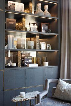 Showroom Shelves Rachel Winham Interior Design Loft In 2019 Loft Interior Design, Interior Architecture, Interior Decorating, Regal Display, Regal Design, Decoration Bedroom, Built In Cabinets, Shelf Design, Display Shelves