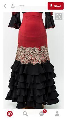 Flamenco Costume, Flamenco Skirt, Flamenco Dresses, Spanish Fashion, Latest African Fashion Dresses, Dance Outfits, Dress Patterns, Beautiful Outfits, Dress To Impress