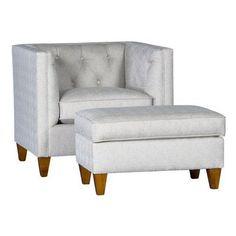 Chelsea Home Furniture Sudbury Upholstered Ottoman - 39510F50-O-PS