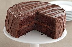 Best-Ever Chocolate Fudge Layer Cake Recipe - Kraft Recipes