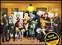 ANSATSU KYOUSHITSU/ASSASSINATION CLASSROOM, Anime, 3-E Class, Irina Jelavic, Karasuma Tadaomi, Korosensei, Tuxedo, Evening Dress