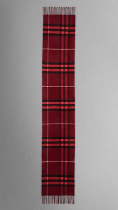 GIANT CHECK CASHMERE SCARF | Burberry
