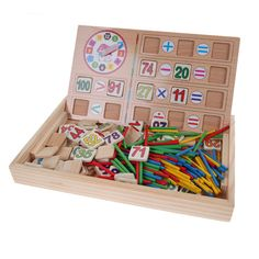 Cheap toy box game, Buy Quality toy moose directly from China toys online Suppliers:        Children Animal Figure Statue Puzzle Wooden Magnetic Drawing Board Fantastic Easel Toys Wooden Magnetic Board Edu