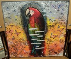 My first Mixed Media work 7.4.2013
