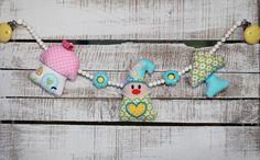 Kinderwagenketten - Kinderwagenkette heiho, heiho - ein Designerstück von Liebens_Wert bei DaWanda
