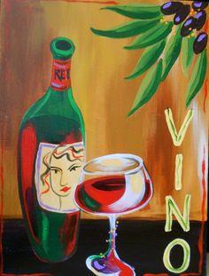 Bottle of Vino