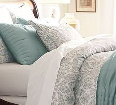 Paisley Bedding, Floral Bedding & Patterned Duvet Covers | Pottery Barn