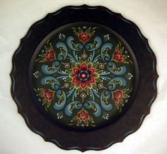 Rosemaling (Norwegian rose painting)