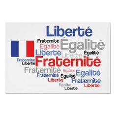 Vive La France - Bastille Day Poster - Also available as cards, invitations, T-shirts!