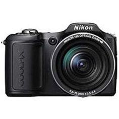 Nikon Coolpix L100 10 Megapixles Compact Digital Camera - 15x Optical Zoom - SD, SDHC Memory Card