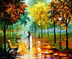 Image result for nature oil paintings autumn