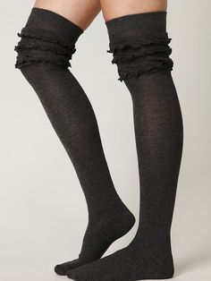 Free People Petticoat Tall Sock at Free People Clothing Boutique