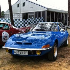 In a perfect world we would have one of these. An original Opel GT at the Le Mans Classic (Taken with Instagram)