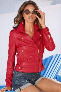 Proper leather jacket