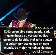Cada Quien-Ariel Camacho