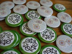 How cute are these bike button badges? Hand made in our workshop & only 75p each