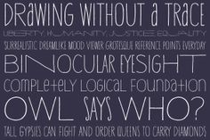 YWFT Hannah is a type design comprised of three versions that work together as one, producing not variation and contrast between weights but between widths. The loose, hand drawn quality adds yet another layer of personality to the font. Hannah is similar to one of our popular Handset designs, YWFT Thinaire, but is available in OpenType format which makes Hannah much more versatile. There are also some additional unicase characters included in the font which can be activated as contextual…