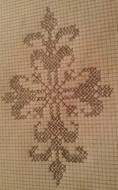 Bargello, Couture, Arabesque, Crochet Designs, Blackwork, Cross Stitch, Bullet Journal, Embroidery, Pasta