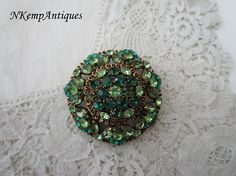 Hey, I found this really awesome Etsy listing at https://www.etsy.com/listing/268353974/large-rhinestone-brooch-1950s