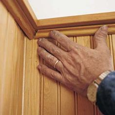installing beadboard wainscoting - this old house