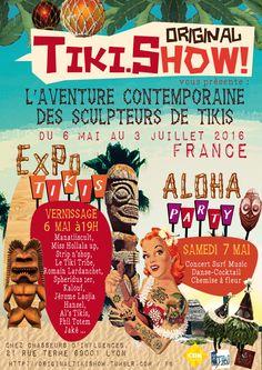 RDV le 6 mai…Humour, exotisme et rassemblement ! La tiki culture est à Lyon !