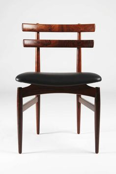 Grete Jalk Dining Table with 8 Chairs by Kai Kristiansen at 1stdibs