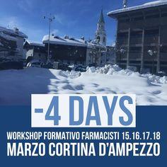 #workshop formativo farmacisti 15.16.17.18 Marzo Cortina D'ampezzo . Ci siamo quasi....Siamo in tanti con tante novità da presentare e formazione innovativa e costruttiva....#staywithUS #servizifarmaciaitalia 081.18086434