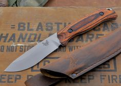 Benchmade Knives: 15001-2 HUNT - Saddle Mountain Skinner - Dymondwood $131.75 Benchmade