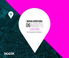 È tutto pronto a Leno!  Vi aspettiamo il 6 Agosto in via Umberto Nobile, 1 per l'inaugurazione del nuovo punto vendita #Tigotà. Sarà una giornata ricca di sorprese e offerte, date subito un'occhiata al volantino #brescia