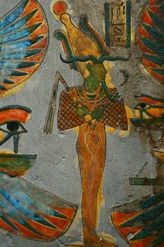 Ancient Egyptian Art & Hieroglyphics at The British Museum in London, UK