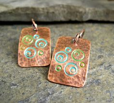 Playing With Patina Inks ... by Cinnamon Jewellery