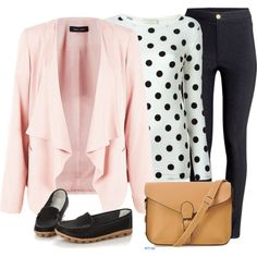 Fall office wardrobe look for women over 50 (7)