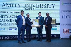 """Ryan International Group of Institutions CEO, Ryan Pinto was named among the """"Future 50 High Impact Leaders"""" at the School Leadership Summit. Leadership Summit, School Leadership, Student Success, Student Life, Amity University, India School, International School, Jaipur, Awards"""