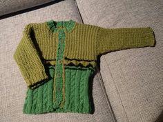 Grøn i grøn trøje.