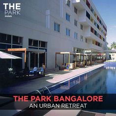 We channel the cool of Bangalore at our very own property. Visiting the Garden City? Book now: http://www.theparkhotels.com
