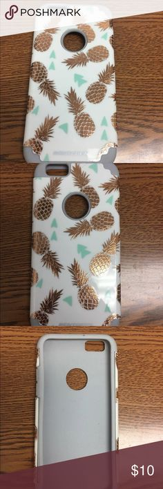 iPhone 6s Phone case iPhone 6s Phone case - pineapple. Brand: Bentoben. Rubber casing plus hard case. Brand new, never used, just wrong size ordered. Price firm. Accessories Phone Cases