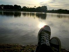 Lago do Parque da Cidade, Brasília - DF